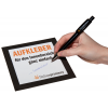 Adesivi per interno come carta autoadesiva da 73 g/m² scrivibile. Semplicissimo –                    scrivibile con una penna a sfera