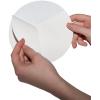 Adesivi per esterni su pellicola di PVC bianca con retro fessurato, facilitano la rimozione della superficie portante