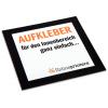 Carta autoadesiva bianca in stampa digitale, con retro fessurato per facilitare la rimozione (non adatta per uso esterno)