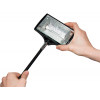 La lampada alogena è orientabile in tutte le direzioni