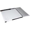 Planning da tavolo personalizzati, incollati in blocco, con cartone grigio per macchinari stabile a rinforzo