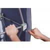 Dopo aver montato il sistema a griglia, tendere tutte le parti laterali sui punti dotati di velcroÂÂ…