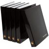 Raccoglitori con stampa personalizzata con un'altezza di riempimento di 25 o 40 mm (disponibili anche con foro di presa opzionale)