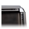 Facile sostituzione del motivo - il profilo largo 32 mm del telaio pieghevole si apre con la massima semplicità.