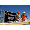 Il nostro suggerimento di materiale per cartelli di segnalazione per cantieri: Alluminio Dibond bianco, ideale per l'impiego esterno (come da figura) / Immagine ©iStockphoto.com/shotbydave