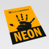 Carta Neon arancione (come da figura)