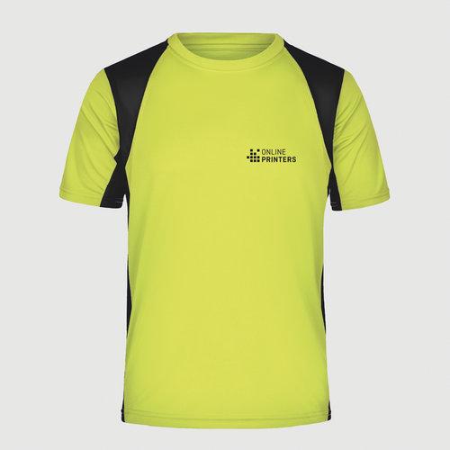 giallo neon / nero