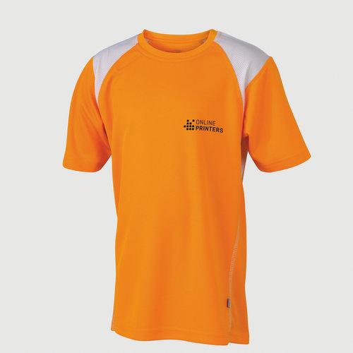 arancione / bianco