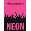 Carta Neon rosa (come da figura)