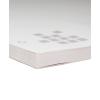 Blocco, con cartone grigio per macchinari stabile come base