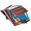 Stampato su carta patinata, carta stampa offset o carta riciclata. Finitura della copertina opzionale
