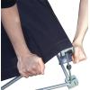 Premere saldamente il tessuto in poliestere stampato sul velcro