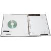 Tasca opzionale porta biglietti da visita e porta CD saldata in PVC trasparente