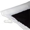 Per pali con bracci –              orlo a giorno cucito per la barra dei bracci (max. 3 cm di diametro)