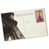 Esempio: retro della cartolina personalizzato (francobolli non inclusi)