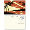 Esempio: fronte e retro (personalizzati; francobolli non inclusi)