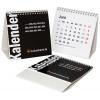 Calendario da tavolo multipagina, con sostegno dorsale (non stampato)