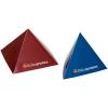Piramide. L'espositore particolare. Disponibile come piramide a 3 o 4 lati in due grandezze diverse