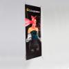 X-Banner esecuzione standard, 500g/m² PVC per motivi alternanti, indicato per grandezze di banner con una superficie di presentazione visibile di 60 x 160 cm o 80 x 200 cm.