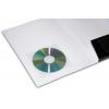 Opzionale: tasca porta CD adesiva trasparente