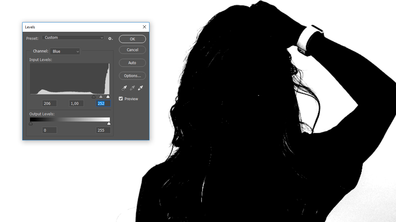 Come togliere lo sfondo bianco con photoshop