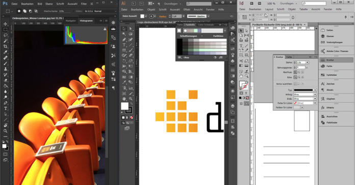 Creazione Dei Dati Per La Stampa Photoshop Illustrator O