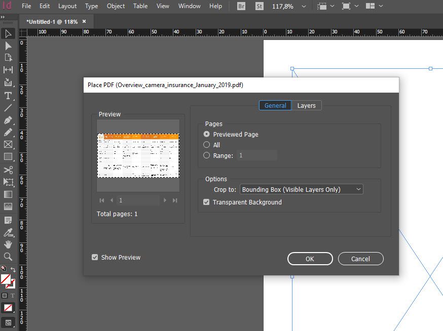 How to compress pdf with InDesign